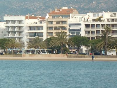 Photo for comfortable apartment in Rosas 50 meters from the beach with wifi
