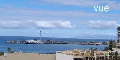 Photo for Los Cristianos, beautiful 2 bedroom apartment 4 people, sea view, Wifi