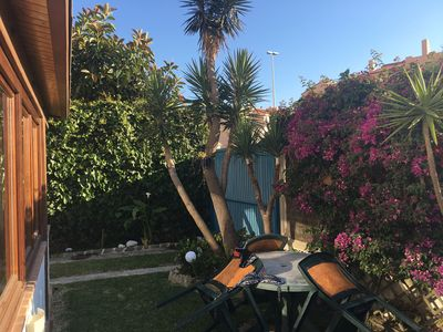 Photo for Large and charming house next to Playa de Los Lances (with garden and parking).