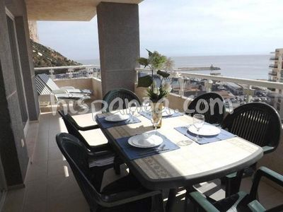 Photo for Apartment rental in Calpe with sea view Costa Blanca