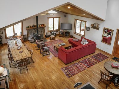 Photo for STUNNING LUXURIOUS VACATION AND SKI HOME - Hudson Valley, Woodstock, Hunter