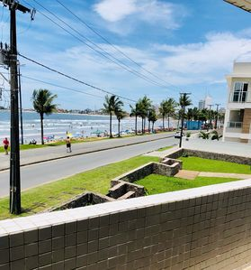Photo for Townhouse overlooking the sea on the central beach of Guaratuba.