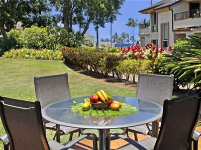 Photo for Poipu Ocean Garden Views A/C in the Master & Guest Bedroom*Kahala 713*