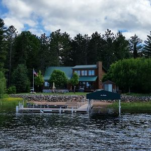 Photo for Beautiful Log Cabin on Pristine Shell Lake. Great fishing, swimming, recreation