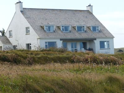 Photo for Large family holiday house right on the cliff top between Rock and Polzeath.