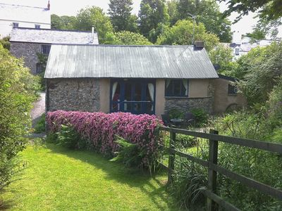 Photo for THE BOTHY, pet friendly, with open fire in Parracombe, Ref 975970