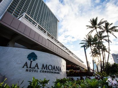 Photo for Ala Moana Condo Mountain View Double Beds 25-01