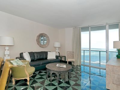Photo for Spacious apartment 2 Bedrooms with dream views! FREE SPA