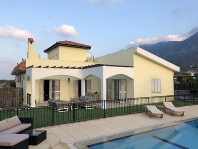 Photo for Nutshell villa is situated in a quiet cul-de-sac in Karsiyaka close to Kyrenia.
