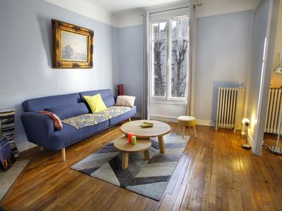 Photo for Charming apartment 25 min from the eiffel tower