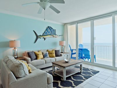 Photo for Incredible Views of the Gulf of Mexico ~ Beachfront San Carlos Condo with a Pool