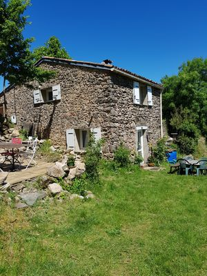Photo for Avène, Charming house on a green hill and calm.