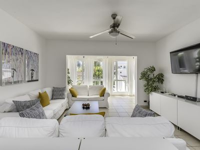 Photo for 6BR Beach Front Penthouse Condo With Rooftop Terrace & Maid - Live Like a Local