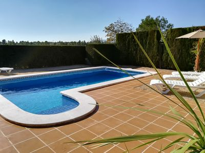 Photo for Beautiful detached fully furnished villa with 3 bedrooms with private pool