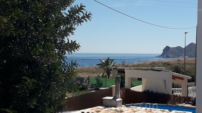 Photo for Casa eline romantic house with private pool at 300 m from the beach