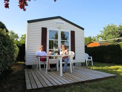 Photo for Camping Le Both d'Orouet *** - Cozy 2-room mobile home 2 people