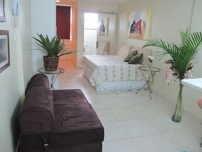 Photo for Studio in Ipanema 40 meters from the beach (post 10)