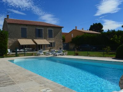 Photo for Charming villa ideally located in the village of Maussane Alpilles