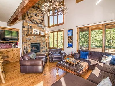 Photo for NOW AVAILABLE FOR BLUEGRASS! - Luxurious, Spacious Ski-In/Ski-Out End Unit With Views