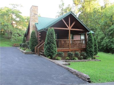 Photo for Cabin Near Sevierville Convention Center!