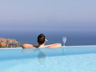 Photo for ERICEIRA HILLS- DE LUXE VILLA WITH HEATED POOL AGAINST THE ATLANTIC