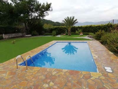 Photo for Fantastic Villa, countryside, garden, quiet location, 5min from beach with car