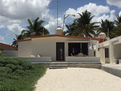 Chuburna BeachFront - Great Little House, fully furnished,nice beach &  location - Chuburna Puerto