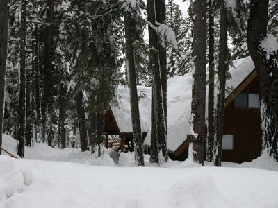 Photo for Carnelian Bay cabin - block away from Lake Tahoe, 15 minutes from ski areas