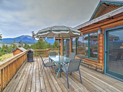 Photo for Silverthorne House w/ Private Deck & Mtn Views!