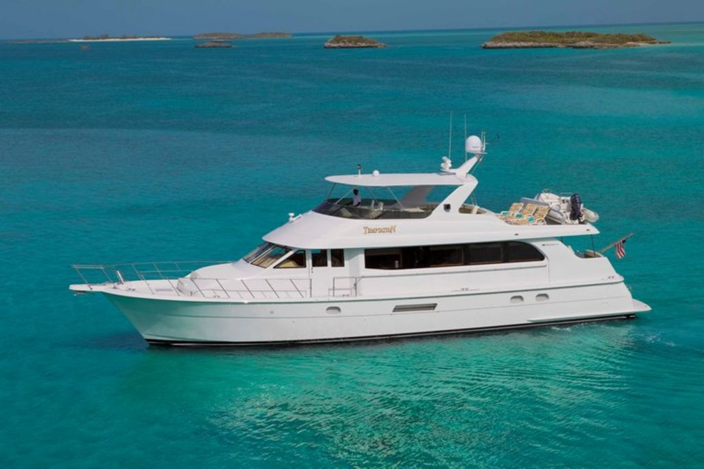 Motor Vessal Amizad: 76 Foot Hatteras Motor Yacht- NOW OFFERING 10% DISCOUNT