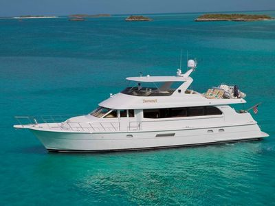 Pristine 76' Hatteras Motor Yacht -Completely Refurbished in 2019