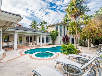 Photo for LUXURIOUS 5 BEDROOM HEATED POOL HOME JUST STEPS FROM FORT LAUDERDALE BEACH!!!