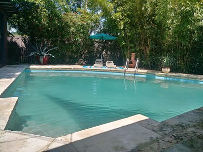 Photo for Atomic Ranch House-Pool-Central East-Bikes Avail-off E 51st- Mueller Park Area!