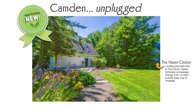 Photo for Private in-town Camden cottage!