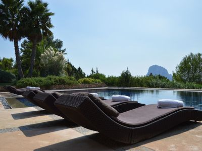 Photo for Luxury Villa Brigitte, in Ibiza, with private pool, 5 bedrooms, 10 sleeps