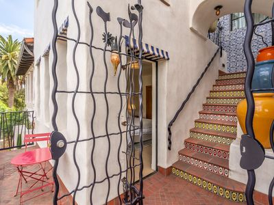 Photo for Iconic style & colorful details - stunning Santa Barbara downtown home! *NEW*