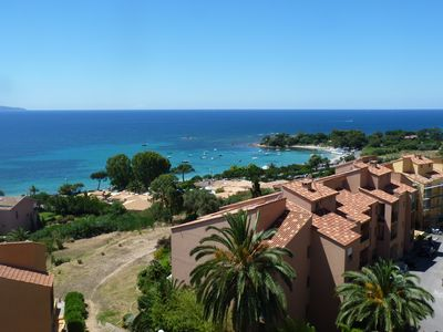 Photo for Beautiful apartment overlooking the sea and the Gulf of Ajaccio