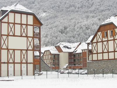 Photo for Well-kept apartment in a mountain village with thermal baths