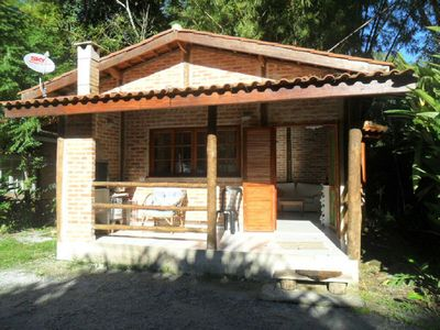 Photo for Charming house within reserve Mata Atlantica next beach with pools.