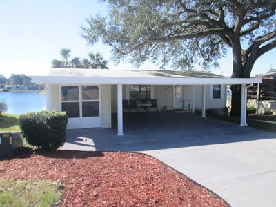 Photo for Cozy 2 Beds/2 Baths Lake Home on the Lake By The Villages, the Beaches & Disney!