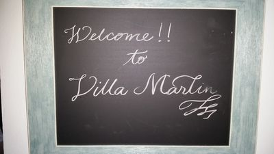 Welcome home to Villa Marlin!
