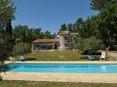Photo for House with large swimming pool. Peace and quiet in the middle of 2 hectares