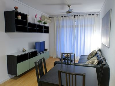 Photo for Apartment 366 m from the center of Barcelona with Internet, Air conditioning, Lift, Terrace (721686)