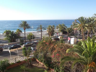 Photo for HIGH STANDING APARTMENT WITH GREAT SEA VIEW, WIFI, FRENCH TV, PARKING