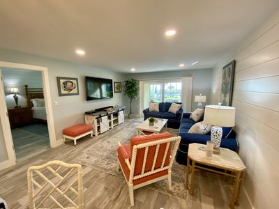 Photo for On the Beach! FULLY RENOVATED Nov 2019 AMAZING! You won't want to leave!