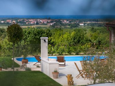 Photo for 3 bedroom Villa, sleeps 8 in Vilanija with Pool, Air Con and WiFi