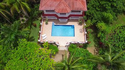 A Birds eye view of the most amazing Villa In all of Northern Panama!