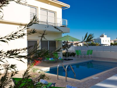 Photo for Villa Darcy, Central 3BDR Protaras Villa with Pool, Close to Protaras Strip
