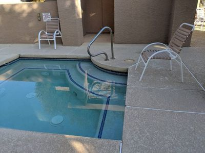 Photo for New Listing - Private pool, spa & yard south Tempe townhouse