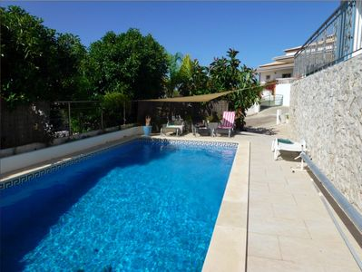 8x4 pool,hot and cold shower